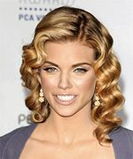 Annalynne mccord hairstyle curly.